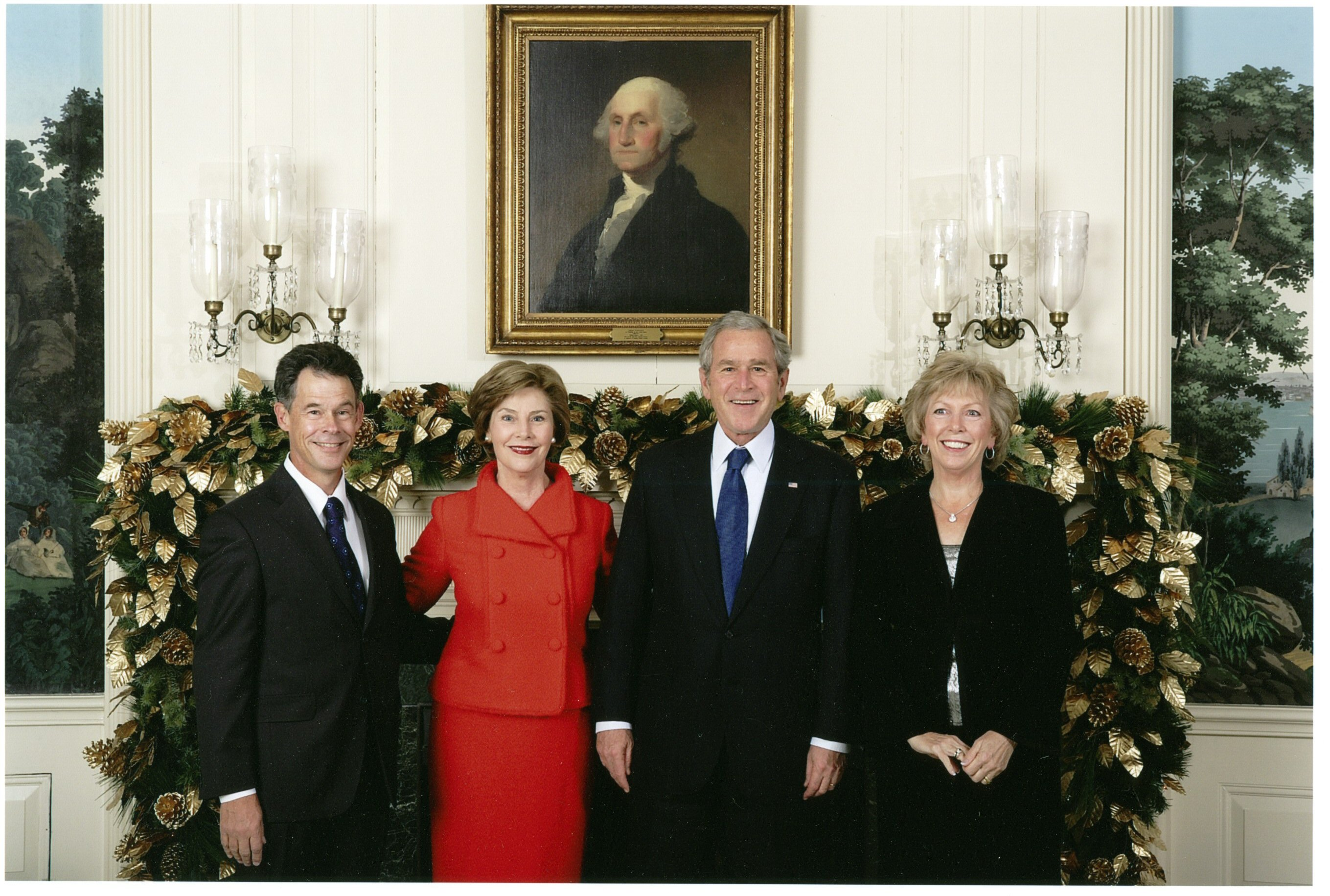 White House Christmas Card (2007) | Drummond Art
