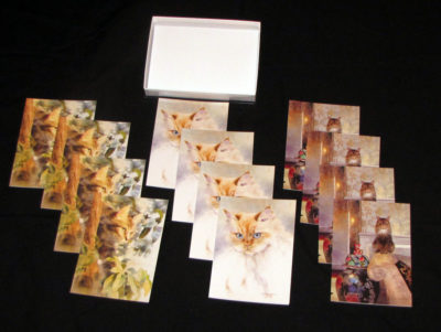 Cat Card Collection display (1)