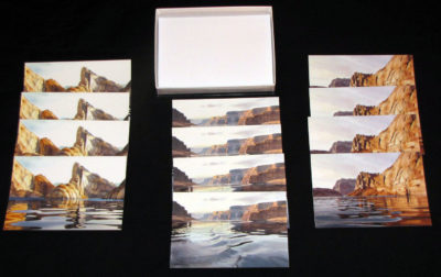 Lake Card Collection Display
