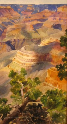 Canyon Cloud Shadows 13 x 7 11062014