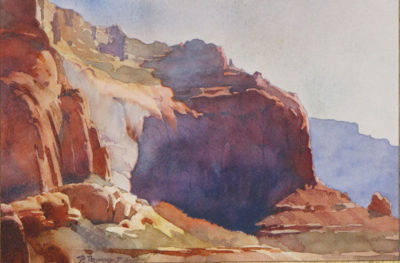 Afternoon Cliff by David Drummond