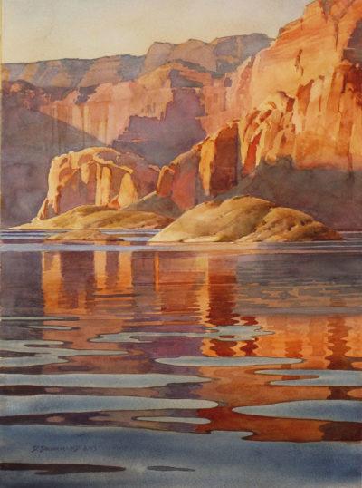 Calm Water Sunset by David Drummond