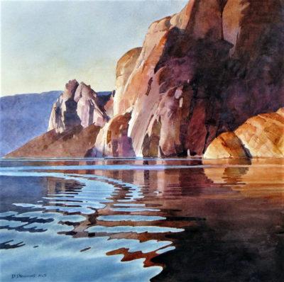 Iceberg Canyon Wake #2 by David Drummond