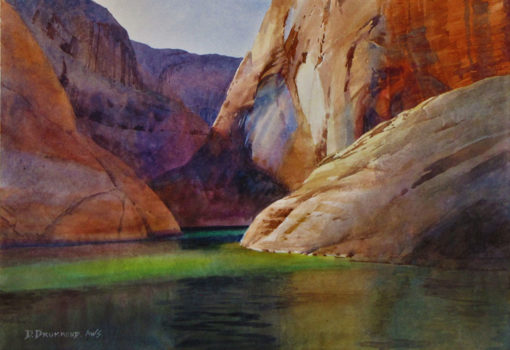 Upper Canyon Light by David Drummond