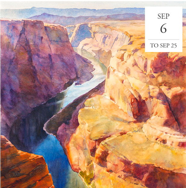 """Reflections: Watercolors That Capture Light"" at Sage Creek Gallery in September"